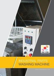 INDUSTRIAL PARTS WASHING MACHINE