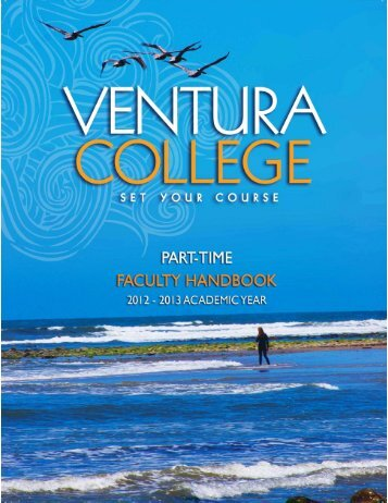 Part-Time Faculty Handbook - Ventura College