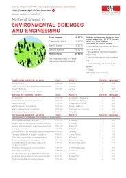 liste des cours en bref (PDF) - Master | EPFL