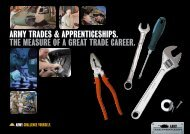 Plumber the meAsure of A greAt trAde cAreer. Army ... - Defence Jobs