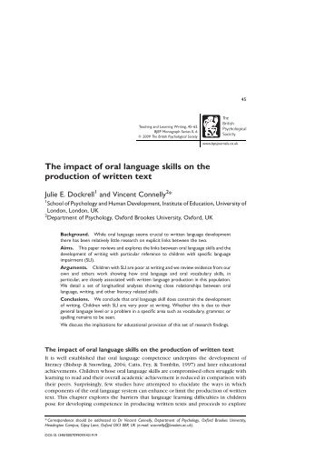 texting effects on written communication skills Than oral communication, would impair memory-[t]his inven- tion will  possible,  informal writing's impact on more formal writing as the  al, undergraduates'  text messaging language and literacy skills, http:/ilinkspringer.