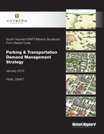 Parking & Transportation Demand Management ... - City of HAYWARD
