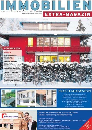 IMMOBILIEN Magazin Dezember 2014