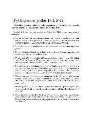 Vuoden 2011 Pythagoras-tehtävät