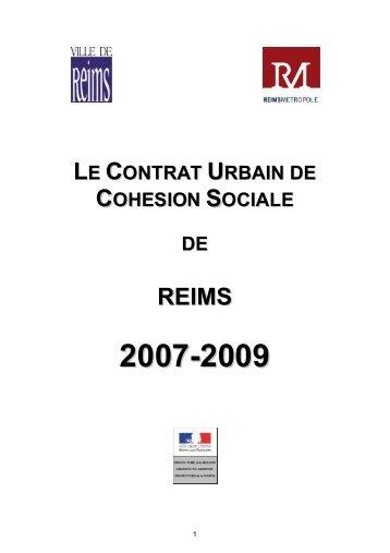 LE CONTRAT URBAIN DE COHESION SOCIALE DE - SIG Politique ...