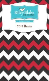 2013 Basics - Riley Blake Designs