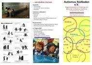 verstehen lernen - Autismus Südbaden eV