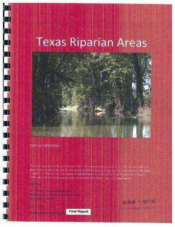 Texas Riparian Areas - Texas Water Development Board