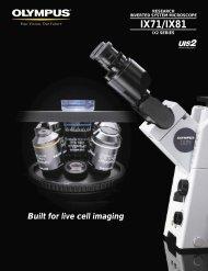 IX71/IX81 - Olympus Microscopy Resource Center