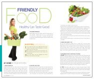Friendly Food - Healthy Can Taste Good - Whole Image Nutrition
