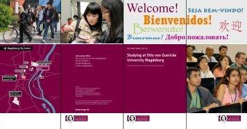Studying at Otto von Guericke University Magdeburg