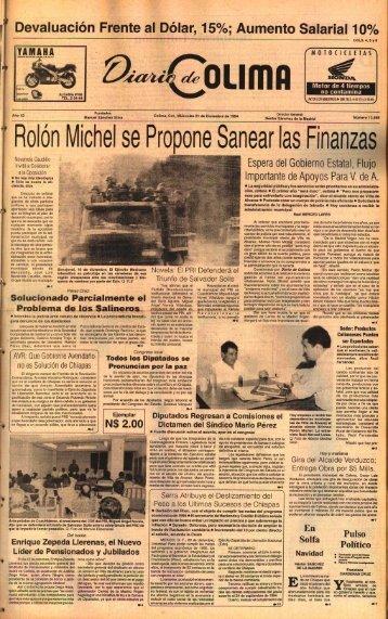 Rol~n Michel Finanzas - Universidad de Colima