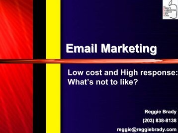 Reactivation Emails - Direct Marketing Club of NY