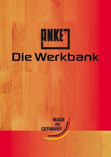 MADE GERMANY IN - ANKE : die Werkbank