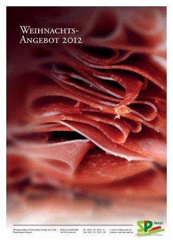 Weihnachts- Angebot 2012 Weihnachts- Angebot 2012