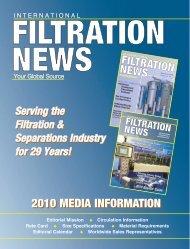 2010 media information 2010 media information - Filtration News