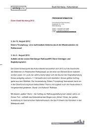 Dürers Triumphzug – eine multimediale Zeitreise im ... - Kubiss.de