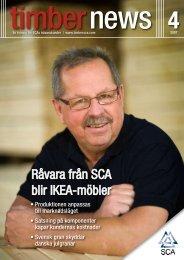 Råvara från SCA blir IKEA-möbler - SCA Forest Products AB