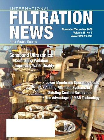 FiltratioNews-December 2009:FiltNews April 2009 - Filtration News