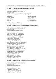 forenklet hovedutskrift formannskapets møte 21 - Bindal kommune