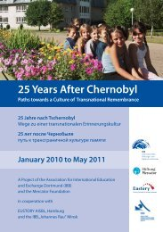 IBB-Project: 25 Years After Chernobyl (PDF 494 KB) - Eustory