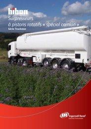 Surpresseurs à pistons rotatifs « spécial camion » Truckstar - Hibon