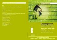 PROGRAMME - Réseau québécois des villes et villages en santé