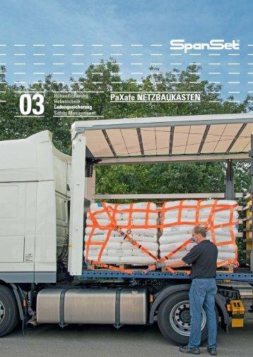 PaXafe NETZBAUKASTEN - SpanSet GmbH & Co. KG