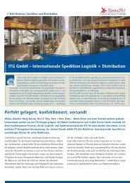 ITG GmbH – Internationale Spedition Logistik + ... - SpaceNet AG