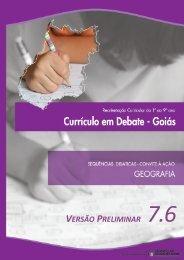 articulação e sequencialidade de temas - Secretaria da Educação