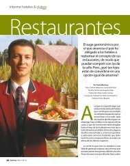 informe hoteles & clubes - Catering.com.co