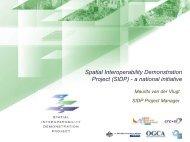 Spatial Interoperability Demonstration Project ... - Seegrid.csiro.au