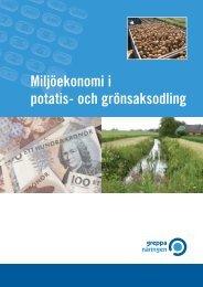 Miljöekonomi i potatis- och grönsaksodling - Greppa näringen