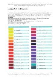 Lascaux barvy a restaurátorské materiály, Beva produkty