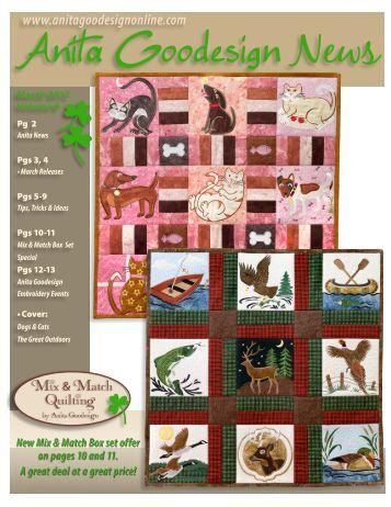 March 2012 Newsletter - Anita Goodesign