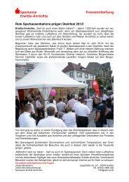 S Sparkasse Pressemitteilung Erwitte-Anröchte