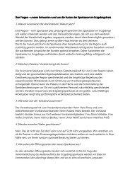 Informationen zur Fusion - Sparkasse Aue Schwarzenberg