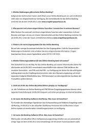 Fragen und Antworten zum Online-Banking 44  kb - Sparkasse Aue ...
