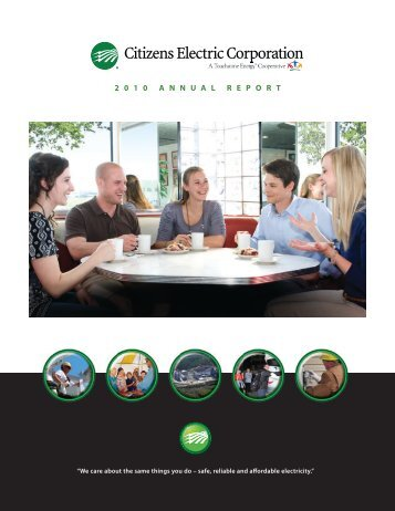 2010 Annual Report - Citizens Electric Corporation