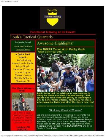 Functional Training At Its Finest! - LouKa Tactical Training, LLC