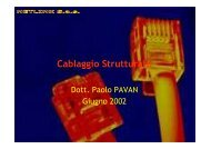 Manuale Cablaggio - Paolo PAVAN
