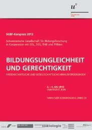 Flyer Kongress SGBF - EHB