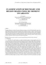 classification of boundary and region shapes using hu-moment