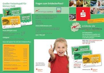 entdecke die - Sparkasse Amberg-Sulzbach