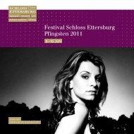 Festival Schloss Ettersburg Pfingsten 2011