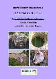 La Piedra y el Agua - InterNatura