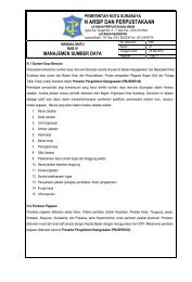 manajemen sumber daya - Badan Arsip dan Perpustakaan   Kota ...