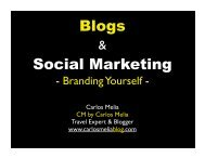 Blogs Social Marketing - Carlos Melia Blog