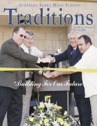 Traditions Winter 2006.indd - Junipero Serra High School