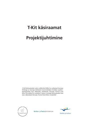 T-Kit käsiraamat Projektijuhtimine - Euroopa Noored
